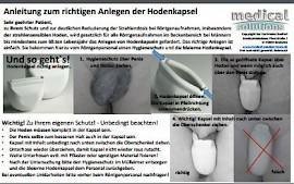 Hodenkapseln anlegen - MTA-R.de