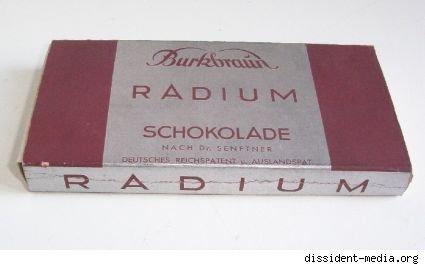 Radium-Schokolade